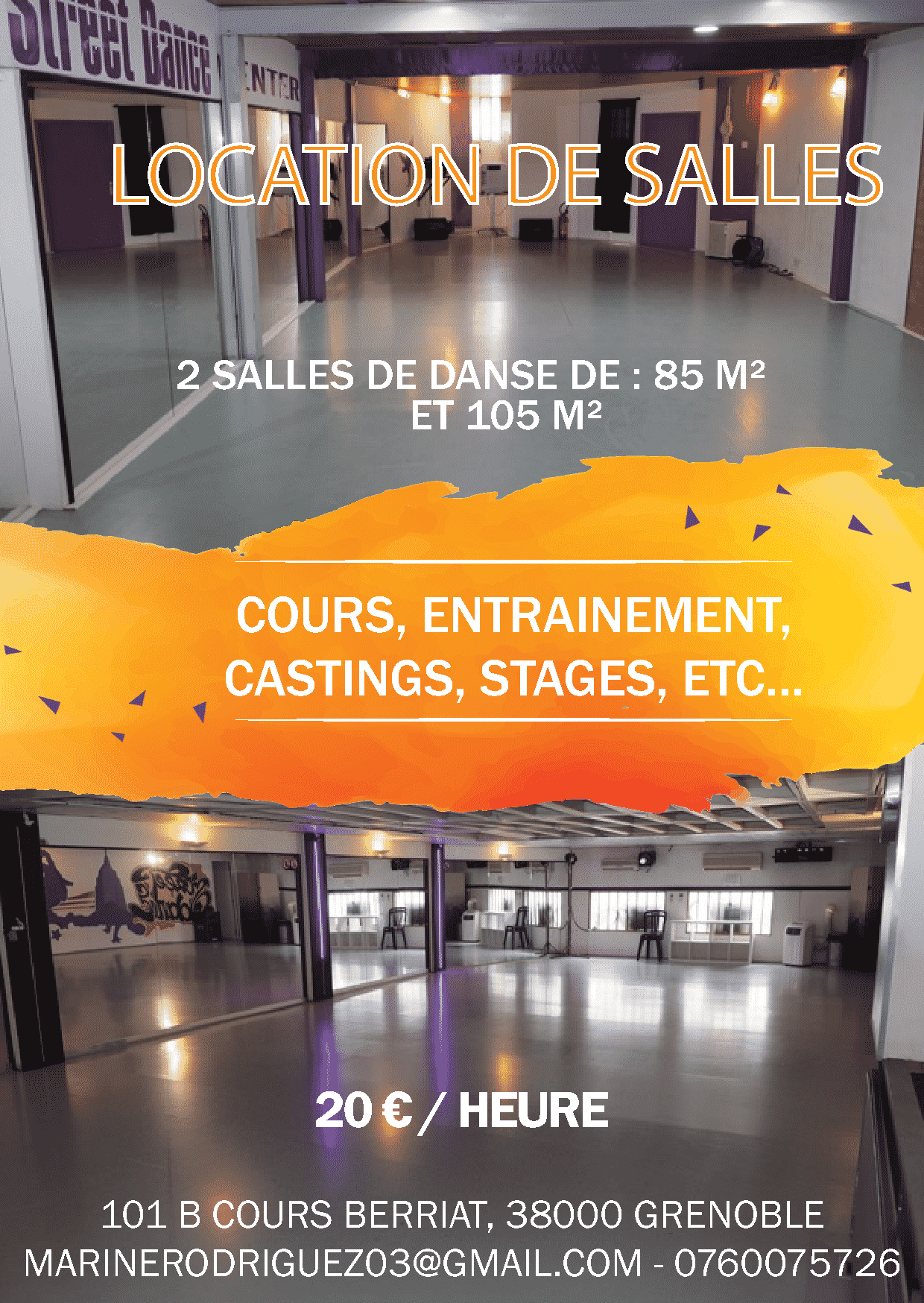 Location De Salle Urban Dance Lab